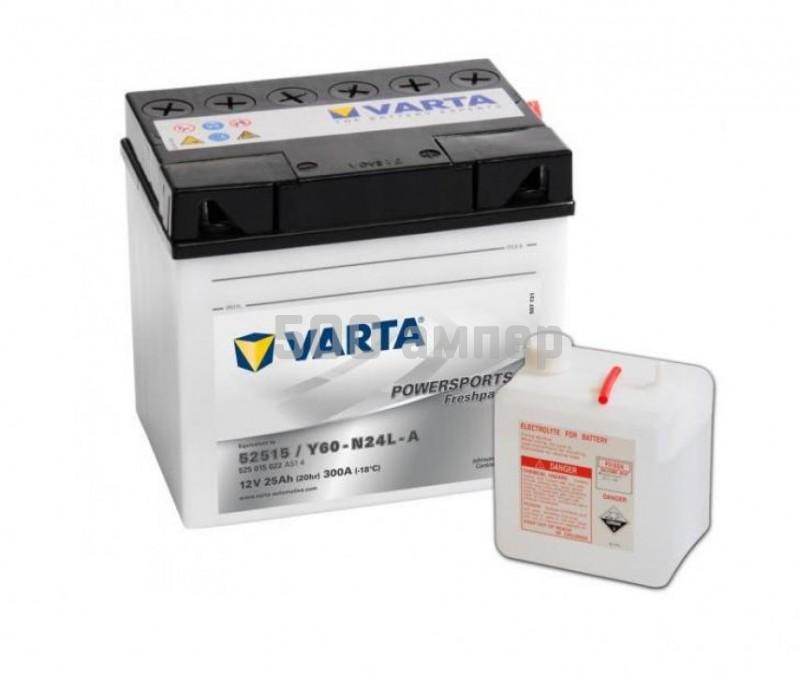 Аккумулятор VARTA Moto 25 Ah (525 015 022) 13154