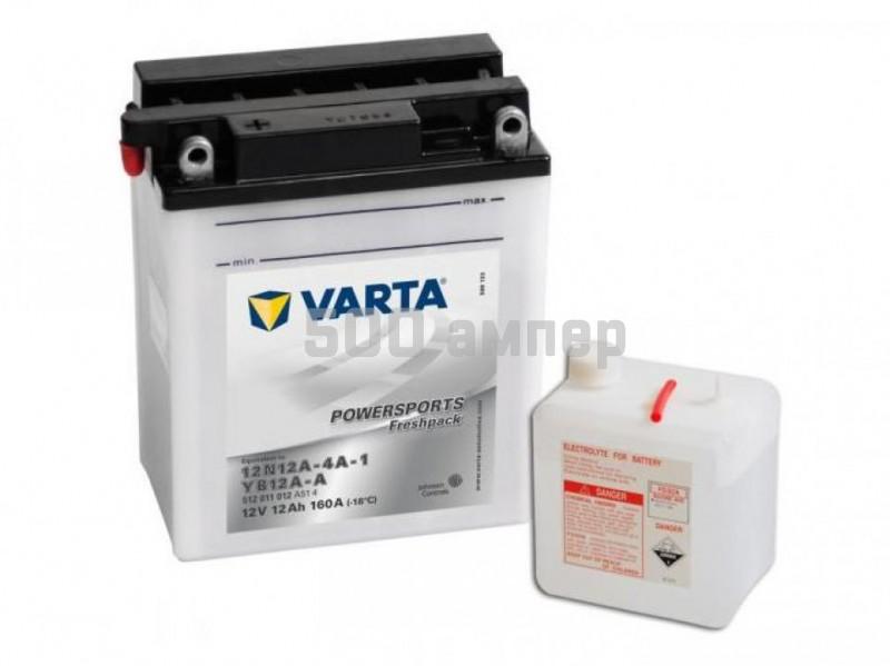 Аккумулятор VARTA Moto 12 Ah 160A YB12A-A (512 011 012) 512011012_VAR