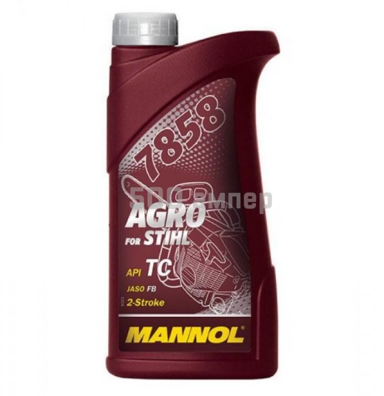 Масло Mannol Agro 2T для Stihl 100мл 19043