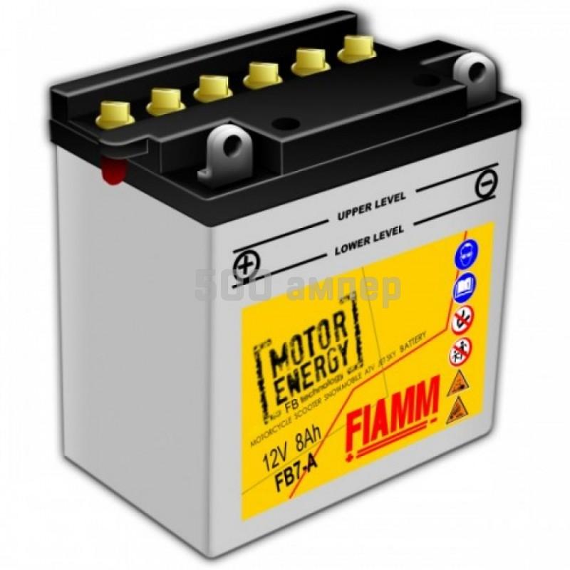 Аккумулятор FIAMM Moto 8 Ah (7904439) FB7-A 12980