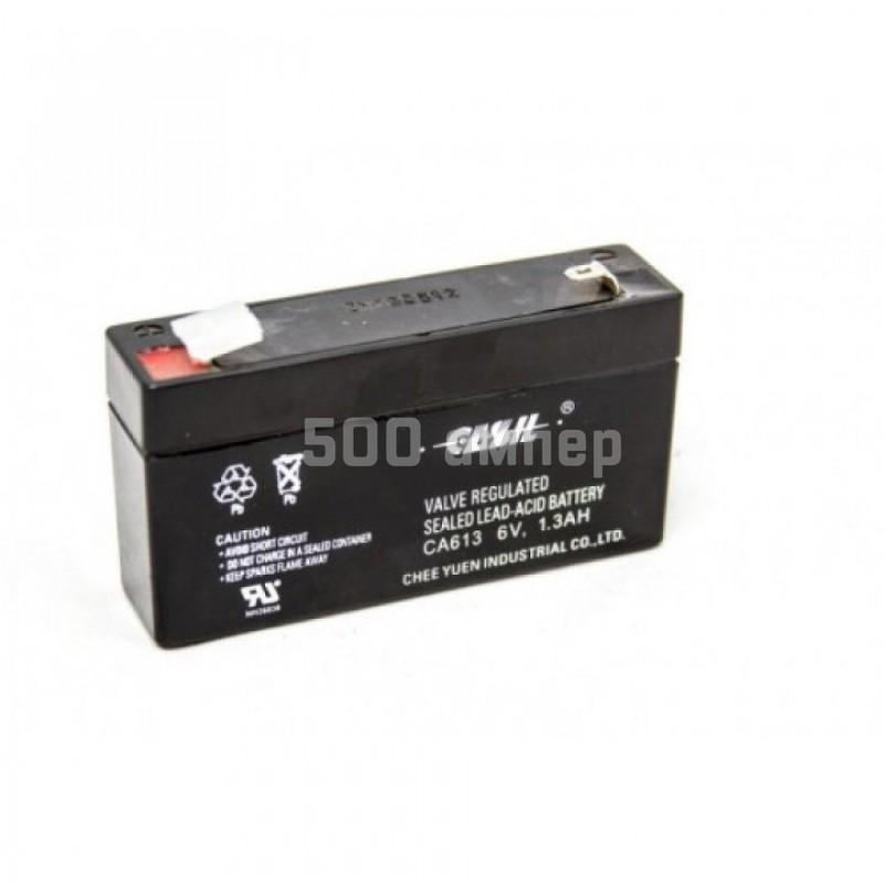 Аккумулятор Casil 6V 1,3Ah (CA613) 13483