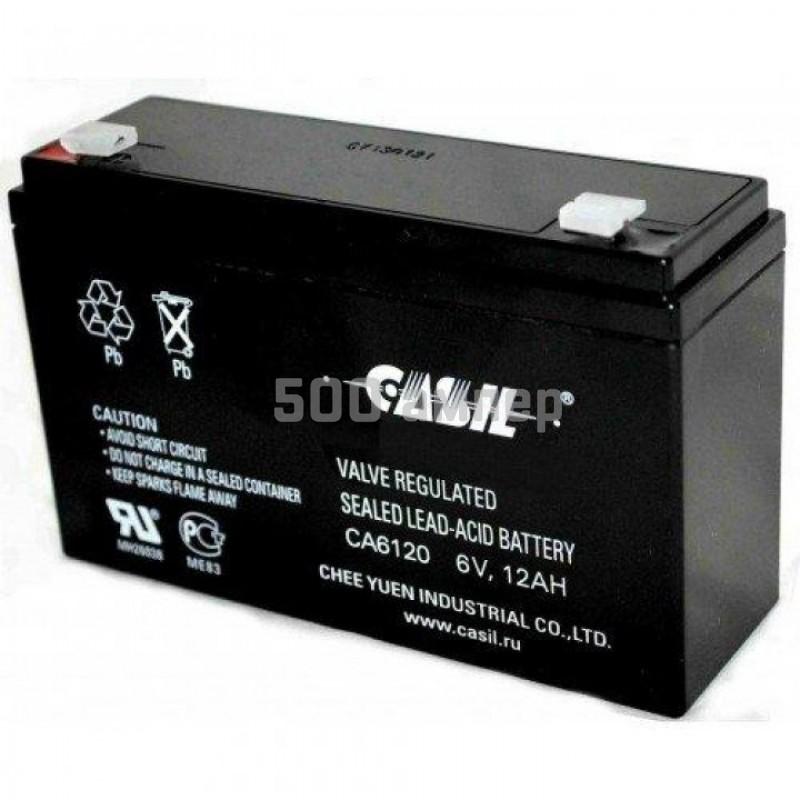 Аккумулятор Casil 6V 12Ah (CA6120) 12968