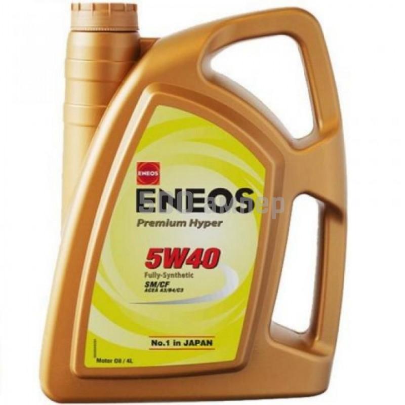 Масло ENEOS Premium Hyper 5w40 4л 7696