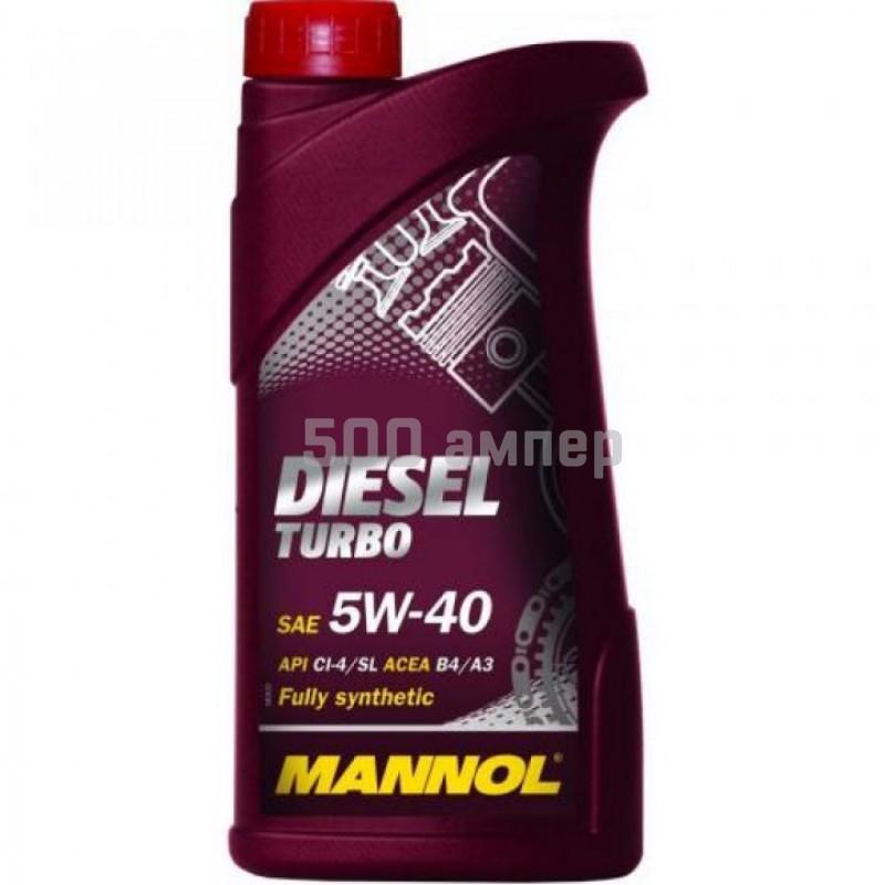 Масло Mannol Diesel Turbo 5w40 1л 3619