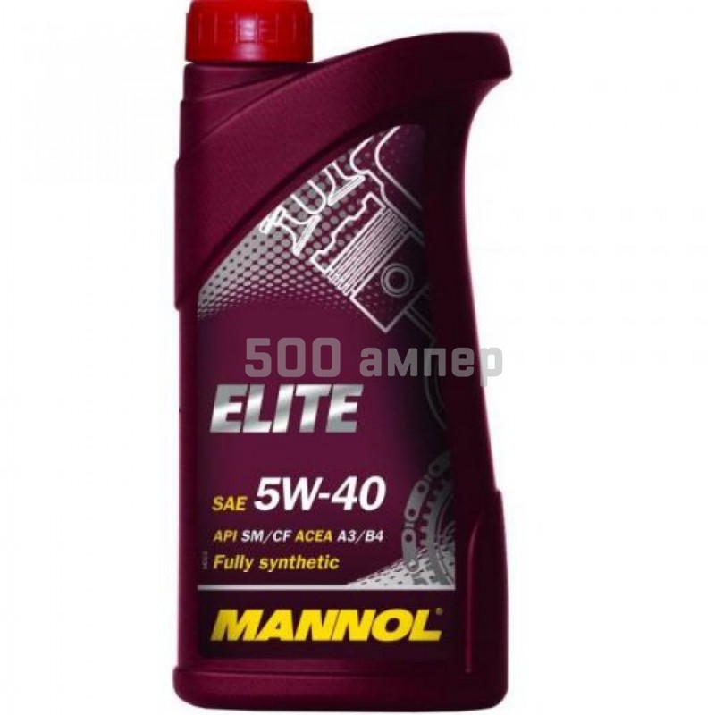 Масло Mannol Elite 5w40 1л 3621