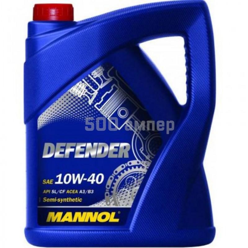 Масло Mannol St. Defender 10w40 5л 3625