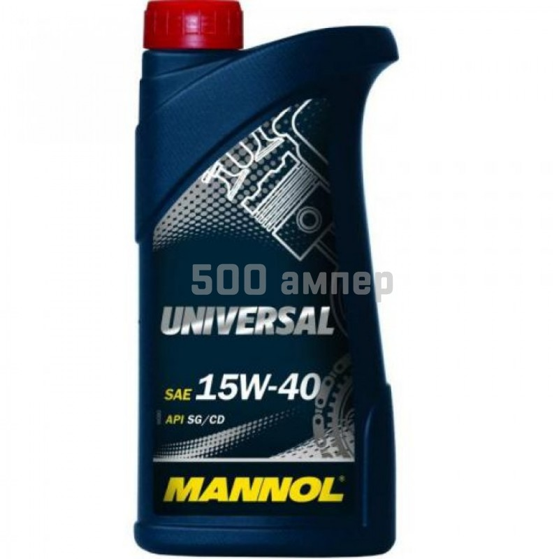 Масло Mannol Universal 15w40 1л (минеральное) 3628