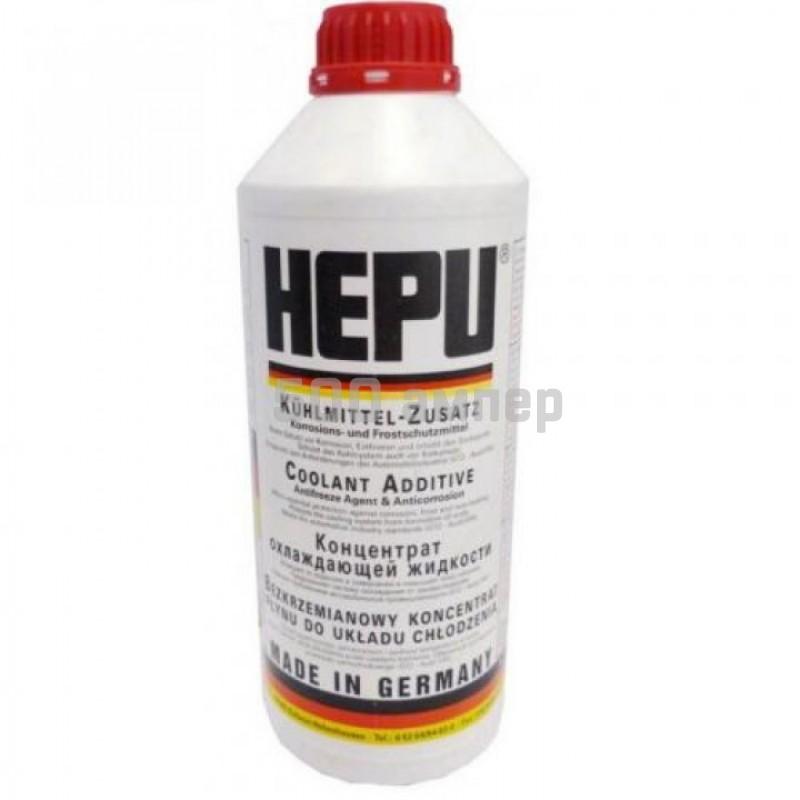 Антифриз HEPU Красный (концентрат) 1.5л (P999-G12) 7630