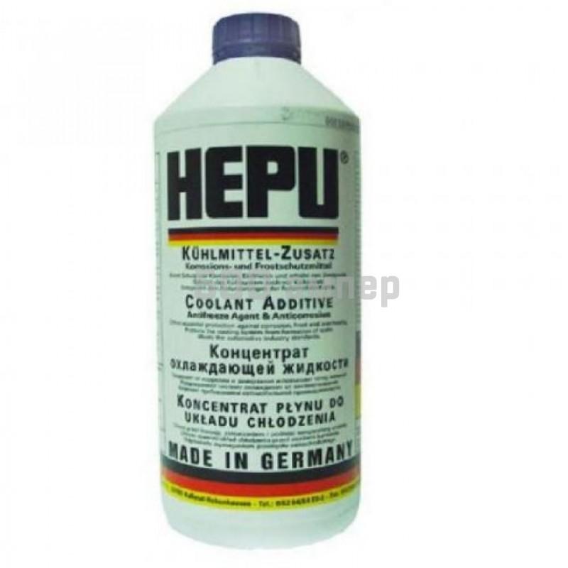 Антифриз HEPU Синий (концентрат) 1.5л (P999- G11) 8980