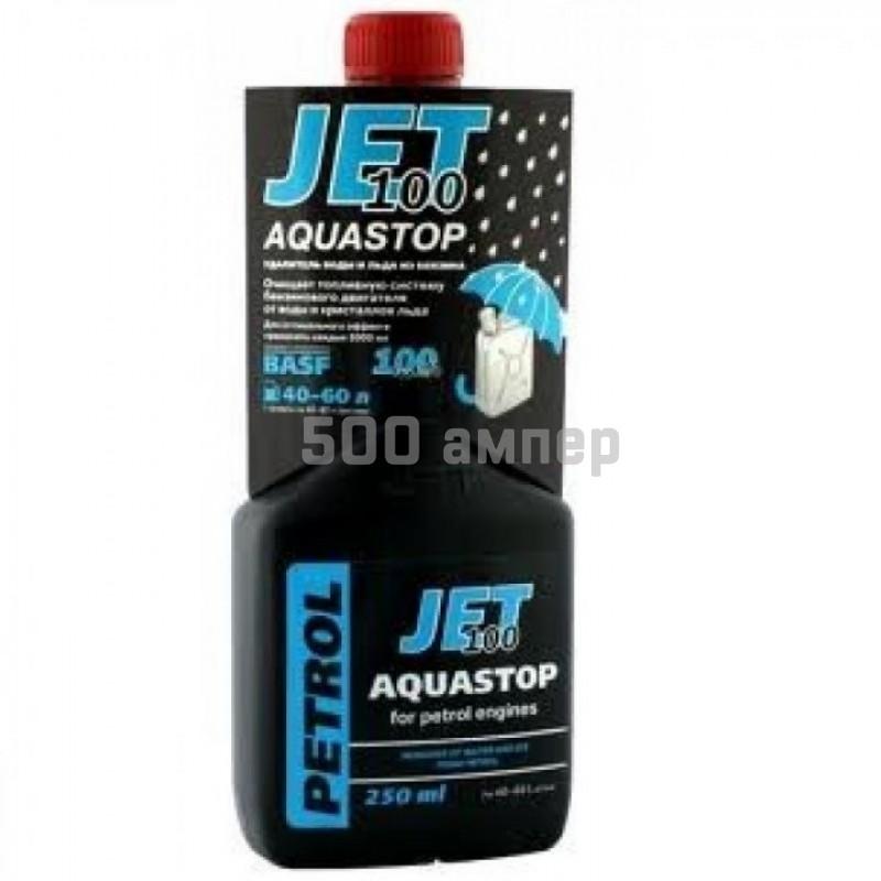 Аква-стоп 250мл удалитель воды/льда из бензина JET100 9049