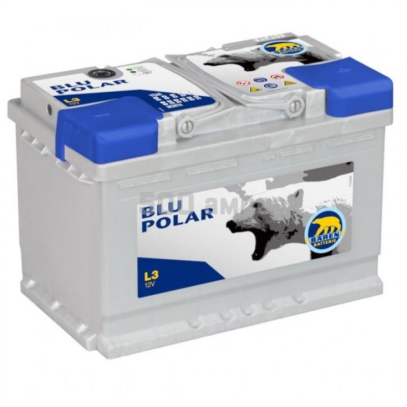 Аккумулятор Baren Polar Blu 74Ah 680A (-+) (7905627) 7905627_BAN