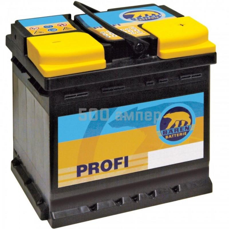 Аккумулятор Baren Profi 74Ah 640A (-+) (7905692) 7905692_BAN