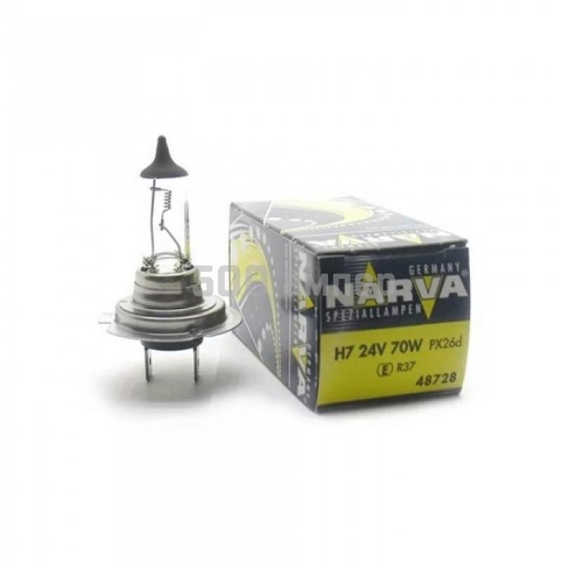 Лампа Narva галогенная Н7 24V 70W (48728) 22354