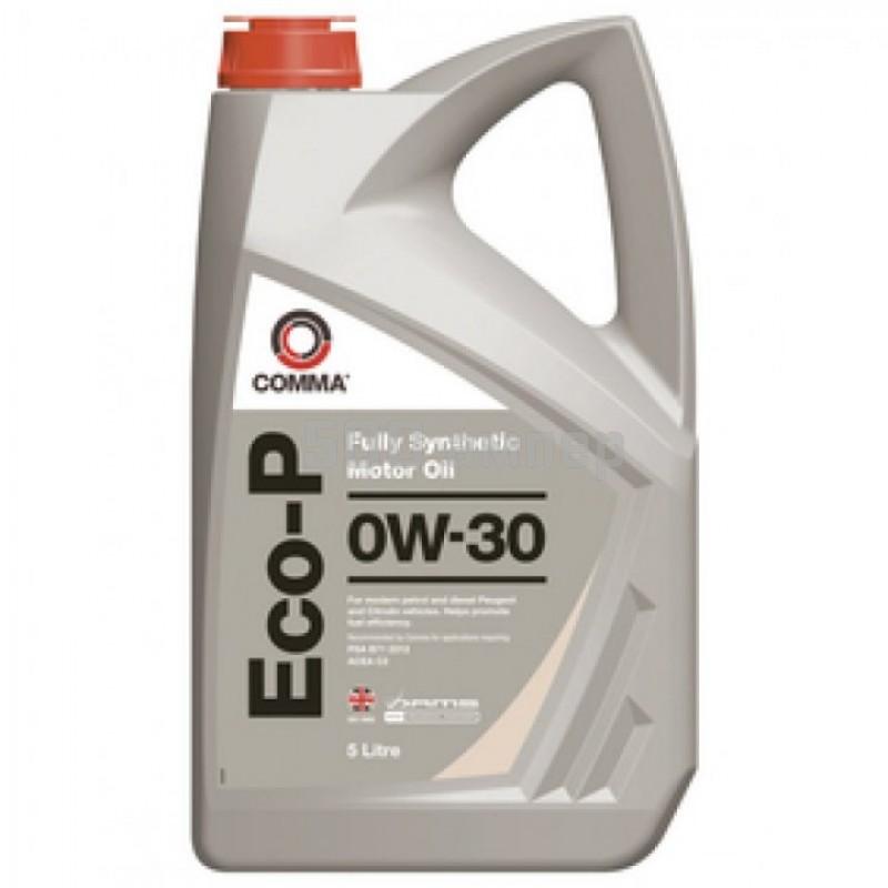 Масло COMMA 0W30 ECO-P 5L ECOP5L_CMA