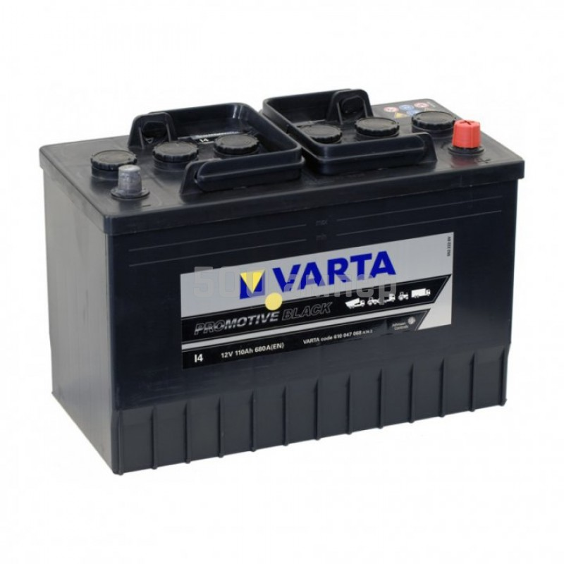 Аккумулятор Varta Promotive Black 610047 110 Ah 680 А правый плюс 610 047 068