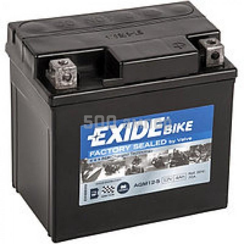 Аккумулятор EXIDE 4Ah 70A AGM12-5 AGM125_EXI