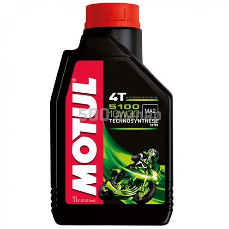 Масло Motul 5100 4T 10w50 полусинтетическое 1л 14520