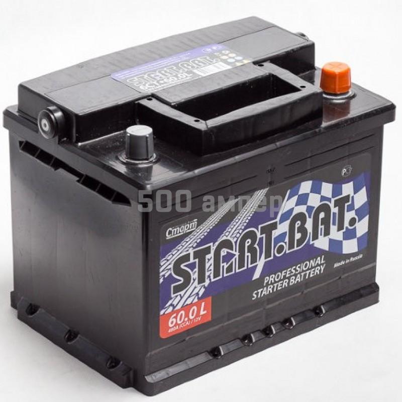 Аккумулятор СтартБат 60 Ah 450А (-+) 11101