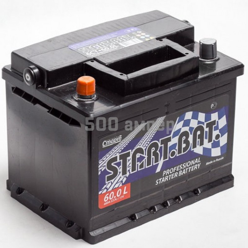 Аккумулятор СтартБат 60 Ah 450А (+-) 12885