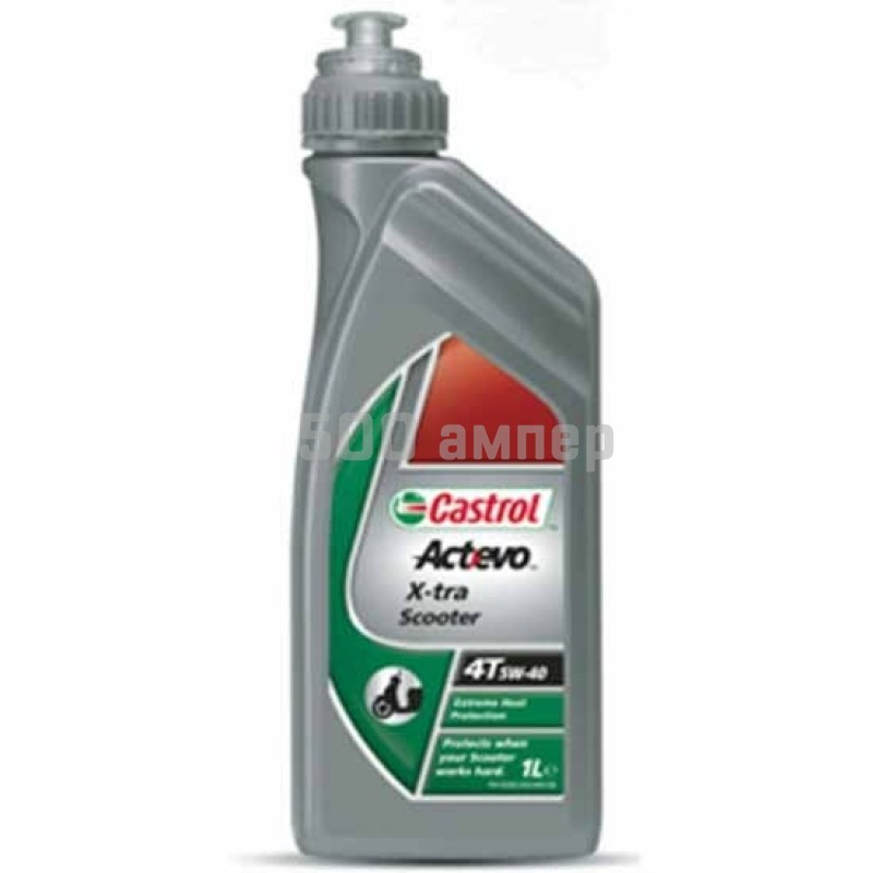 Масло Castrol 4Т X-tra Scooter 5W40 1 л 3534