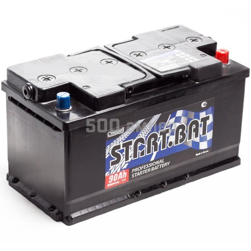 Аккумулятор СтартБат 90 Ah 760A (-+) 12884