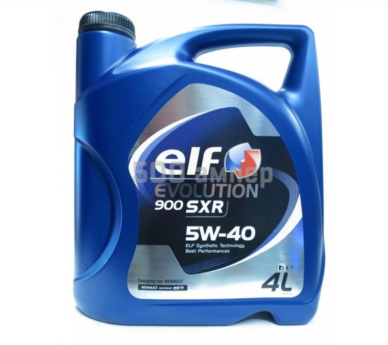 Масло ELF SXR 5W40 4л 9371