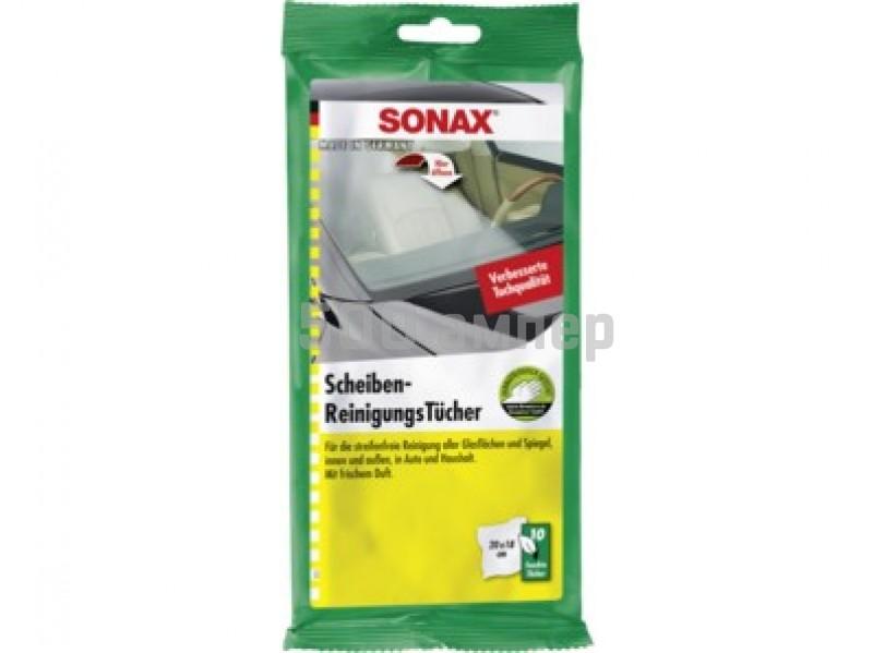 Sonax Салфетки для стекол (10 шт) 415 000 9990