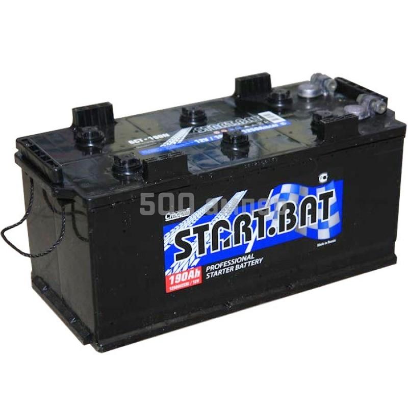 Аккумулятор СтартБат 190 Ah 1250А (-+) 10627