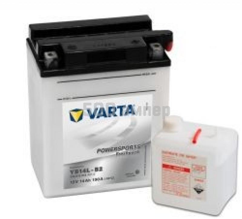 Аккумулятор VARTA Moto 14 Ah YB14L-B2 (514 013 014) 10581