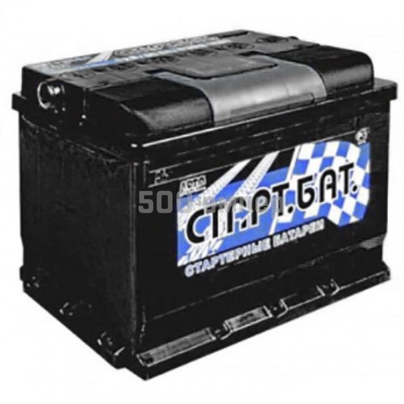 Аккумулятор СтартБат 55 Ah 420А (+-) 10629