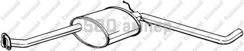 Средний глушитель выхлопных газов BOSAL (281-061)