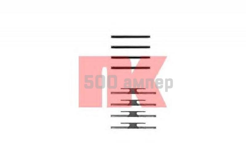 Комплектующие, колодки дискового тормоза NK (7936975)
