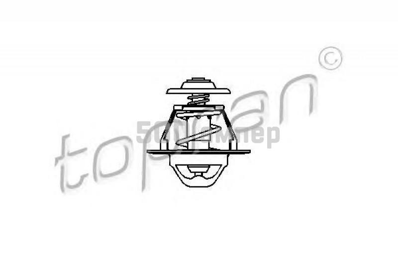 Термостат, охлаждающая жидкость TOPRAN (202 313)