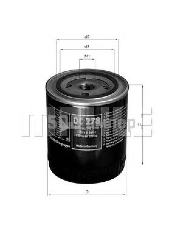 Масляный фильтр KNECHT (OC 278)