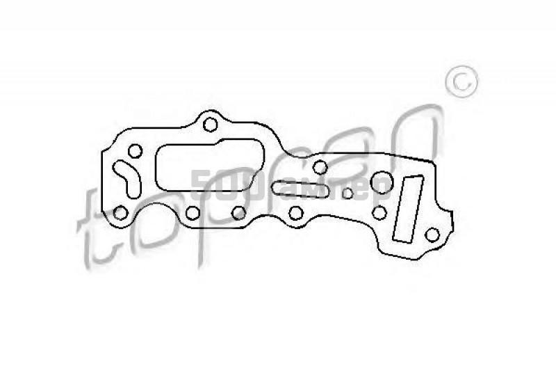 Прокладка, картер рулевого механизма TOPRAN (201 229)
