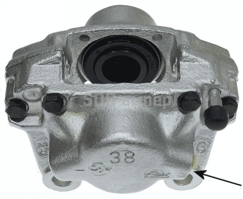 Тормозной суппорт TEXTAR (38040600)