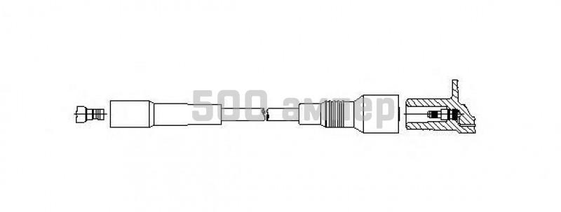 Провод зажигания BREMI (353/100)